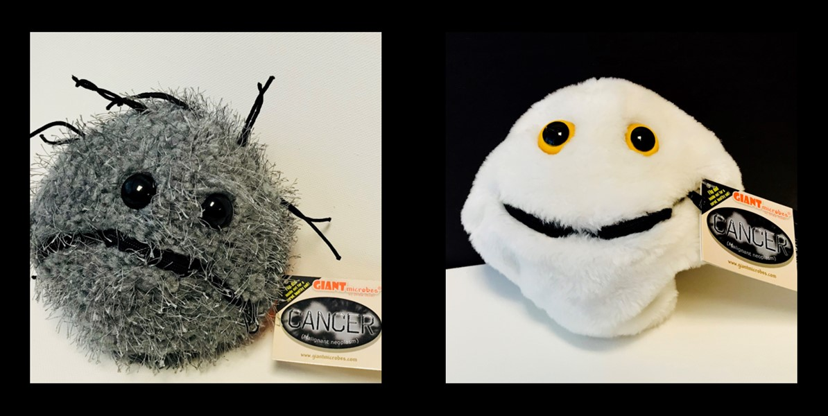 ASCT Giant Cancer Microbe Plushie